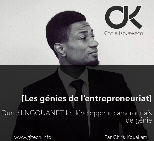 Durrell NGOUANET le développeur camerounais de génie
