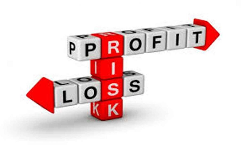Profit, loss, risk.