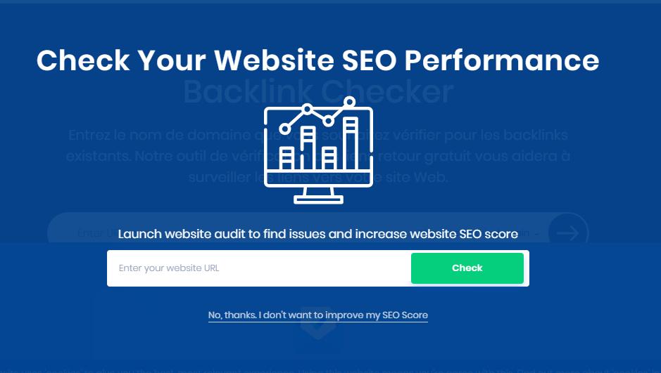 Site Checker Pro pour analyser la réputation de votre site web