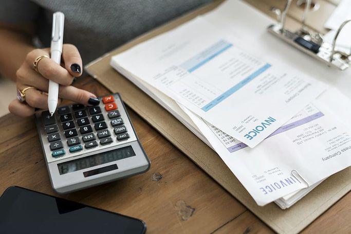 Calculs comptables.