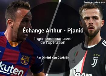 Arthur et Pjanić - bannière